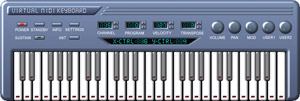 Virtual MIDI Keyboard Example